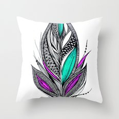 Harvest Feather 2 Throw Pillow