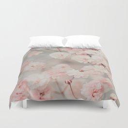 Gypsophila pink blush Duvet Cover