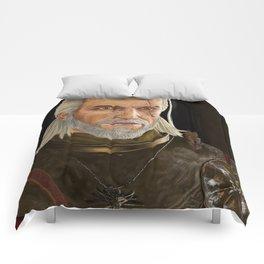 Geralt of Rivia Comforters