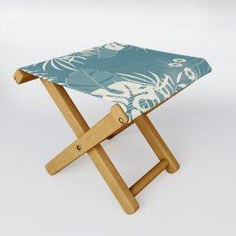 Tropical pattern 047 Folding Stool