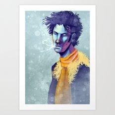 Face of a Killer Art Print