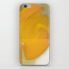 orange one iPhone & iPod Skin
