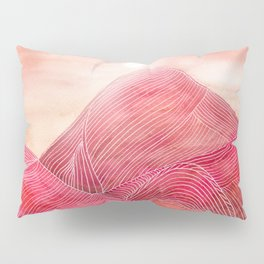 Lines in the mountains XXIII Pillow Sham