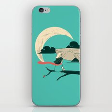 Did you see the whale in flight iPhone & iPod Skin