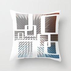 HALF LIFE Throw Pillow