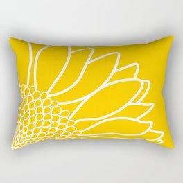 Sunflower Cheerfulness Rectangular Pillow
