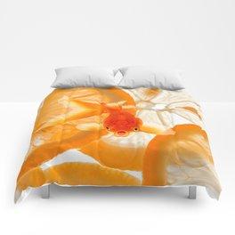 Orange Fish Comforters