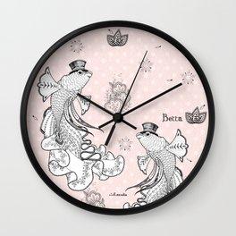 Betta II Wall Clock