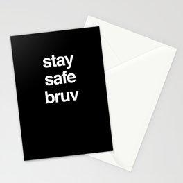 Stay Safe Bruv Stationery Cards