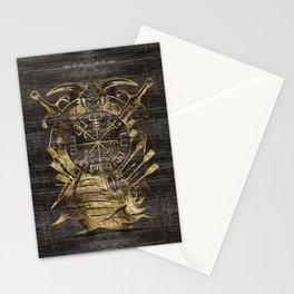 Vegvisir - Viking  Navigation Compass Stationery Cards