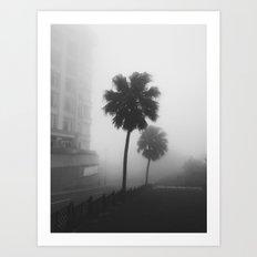 Whispering Fog Art Print