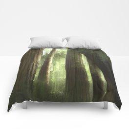 Redwood Abstract Comforters
