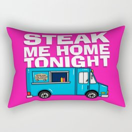 Steak Me Home Tonight (HE104) Rectangular Pillow