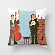 String Duo Throw Pillow
