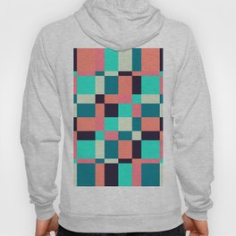 colorful squares Hoody