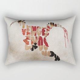 Kratos from GoW Rectangular Pillow
