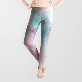 Iridescent marble Leggings