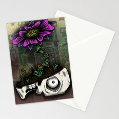 Zombie Skull Planter Stationery Cards