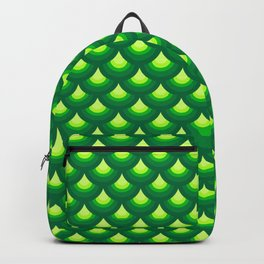 Dragon's Green Armor Backpack