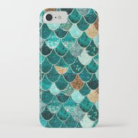 beach iPhone & iPod Cases featuring REALLY MERMAID by Monika Strigel®