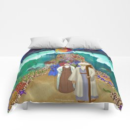 Red Sea Crossing Comforters