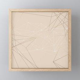 LIGHT LINES ENSEMBLE III Framed Mini Art Print