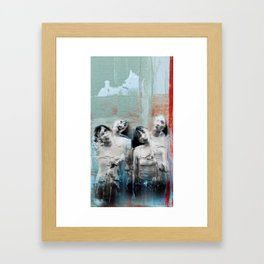 Four shades Framed Art Print