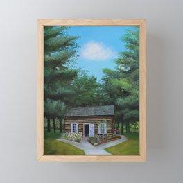 Summer at the Cabin Framed Mini Art Print