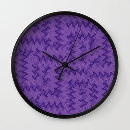 Color Purple Wall Clock