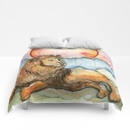 Leo Zodiac Comforters