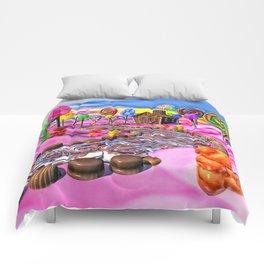 Pink Candyland Comforters