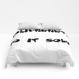 Solivagants Do It Solo Comforters