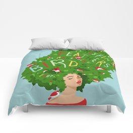 Bird Lady Comforters