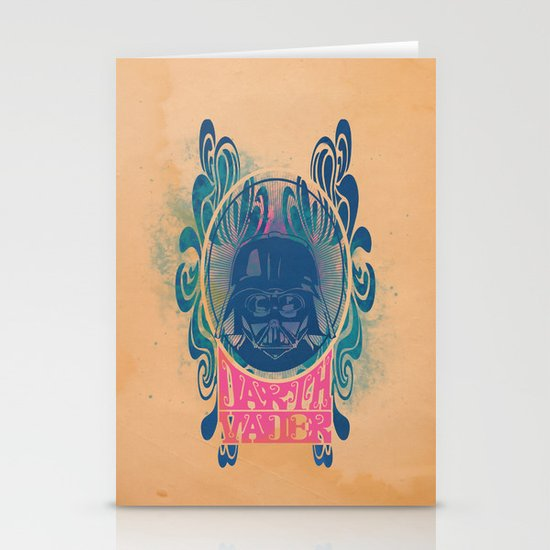 Psychedelic Vader Stationery Cards