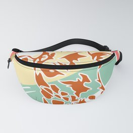 Giraffe gift animal savanna steppe neck Fanny Pack