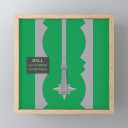 Entrance to the Emerald City Framed Mini Art Print
