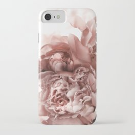 Blush Pink Floral iPhone Case