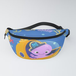 Under the sea with Captain Octo Fanny Pack