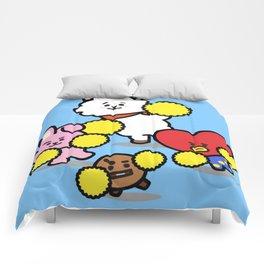 Go team! Comforters