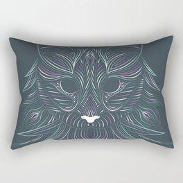 Cat#2 - Norwegian Forest Rectangular Pillow