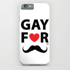 Gay For Moustache Slim Case iPhone 6s