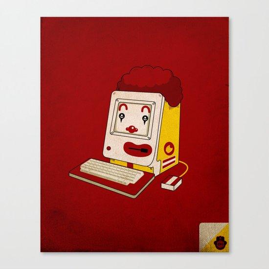 """MAC"" Donalds Canvas Print"