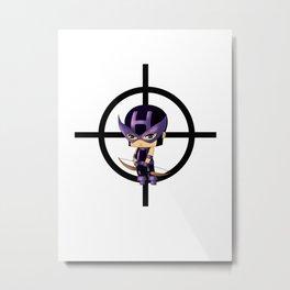 Chibi Hawkeye Metal Print