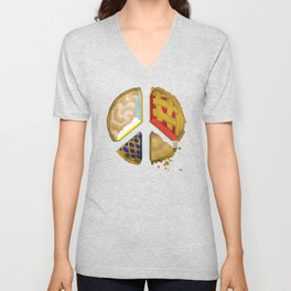 Pie of peace Unisex V-Neck