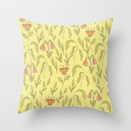Spring Break Throw Pillow