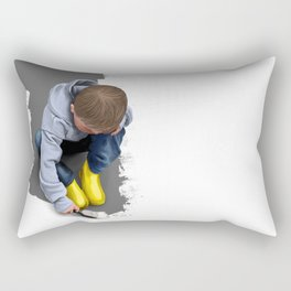 To Live with No Thought for the Future Rectangular Pillow