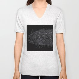 Life of Oceans: The Deep Sea Fish Unisex V-Neck