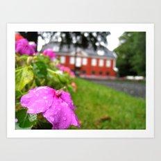 flower I. Art Print