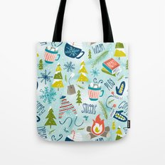 Snow Day Hooray! Tote Bag
