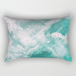 Whitewater 2 Rectangular Pillow